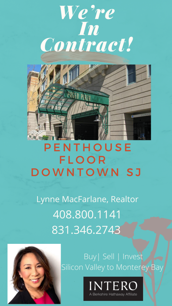 Lynne MacFarlane Realtor - In Contract San Jose Penthouse