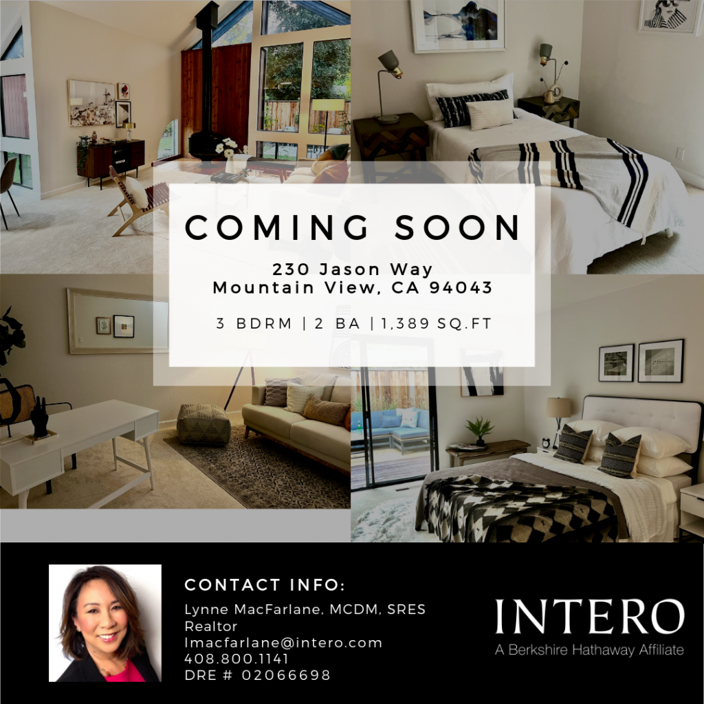 Mountain View Single Family Home for sale coming soon!